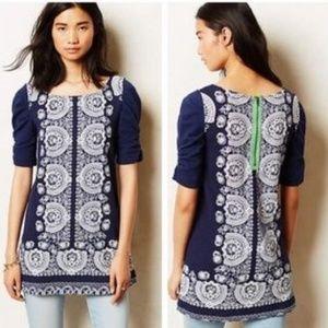 Anthropologie Akemi + Kin Manet Tunic Dress